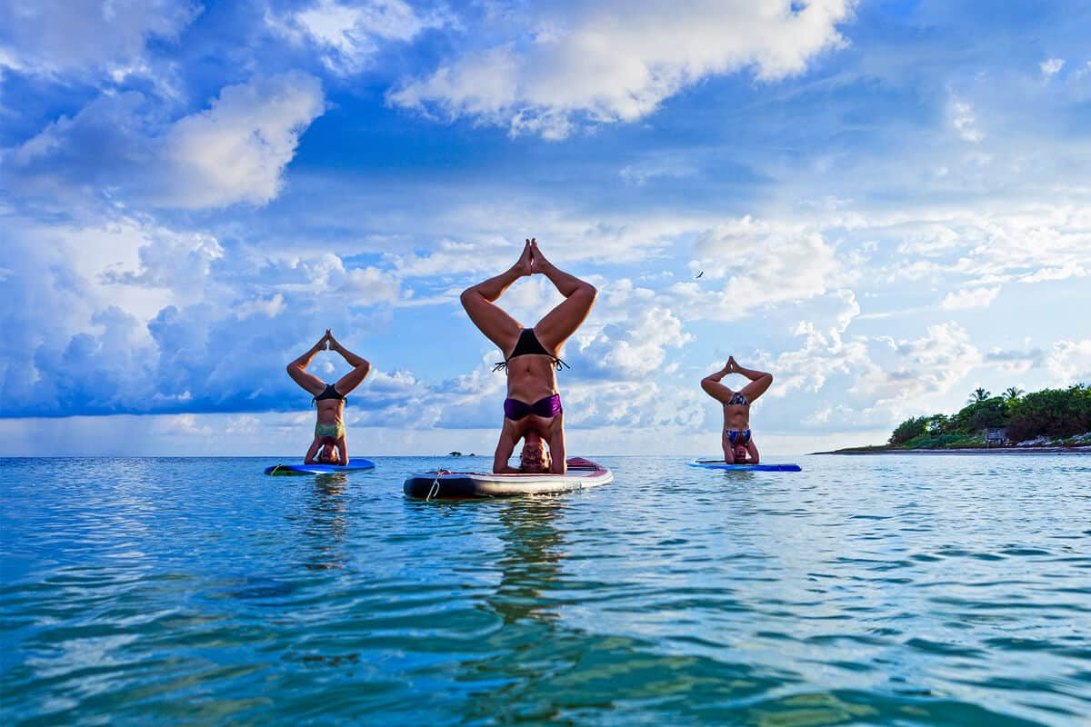 5 Good Reasons to Try SUP Yoga