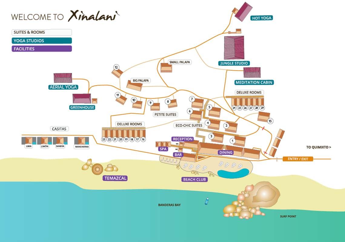 Xinalani Facilities