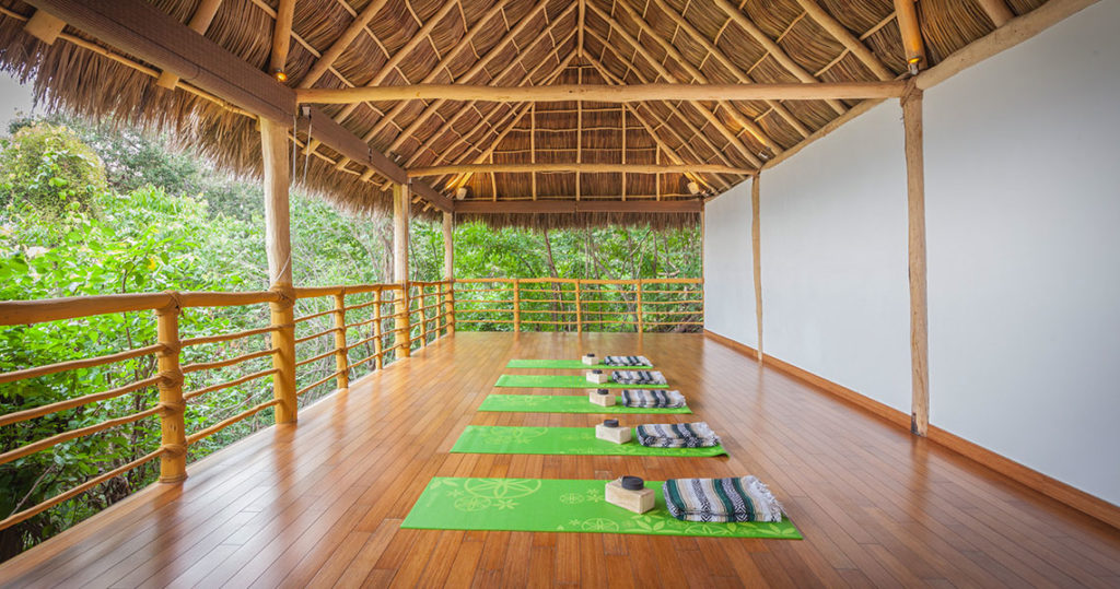 Yoga Center Meditation Cabin