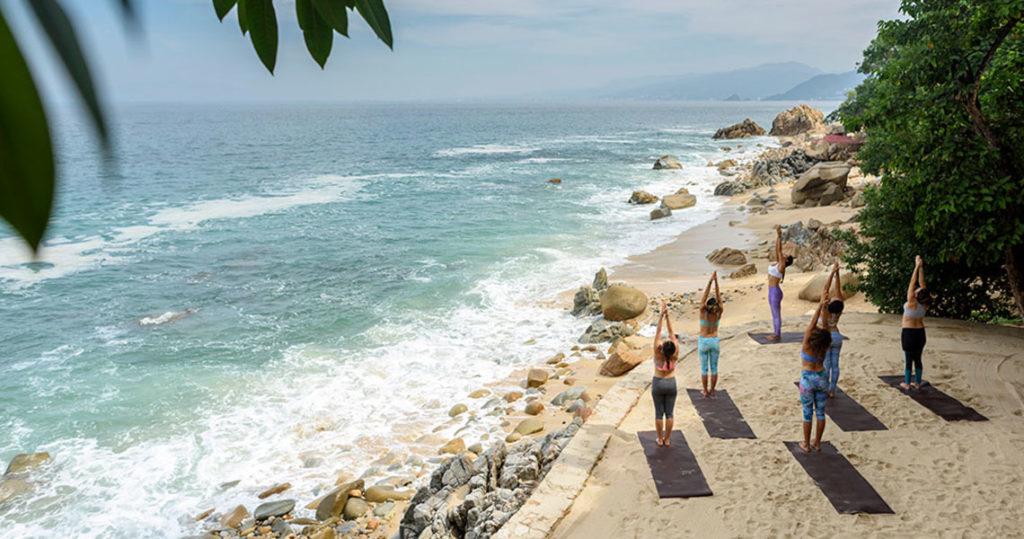 Sand Terrance Yoga